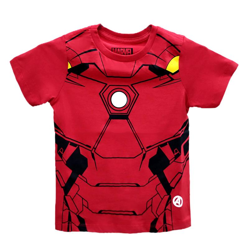 Camiseta Infantil - Homem de Ferro - Corpo