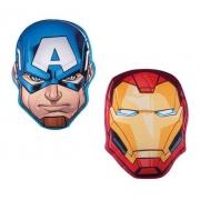 - Almofada Capitão América + Almofada Homem De Ferro