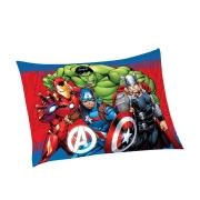 Fronha Microfibra de Poliester Avulsa Estampada Avengers