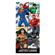 Toalha Liga da Justiça Felpuda Estampada