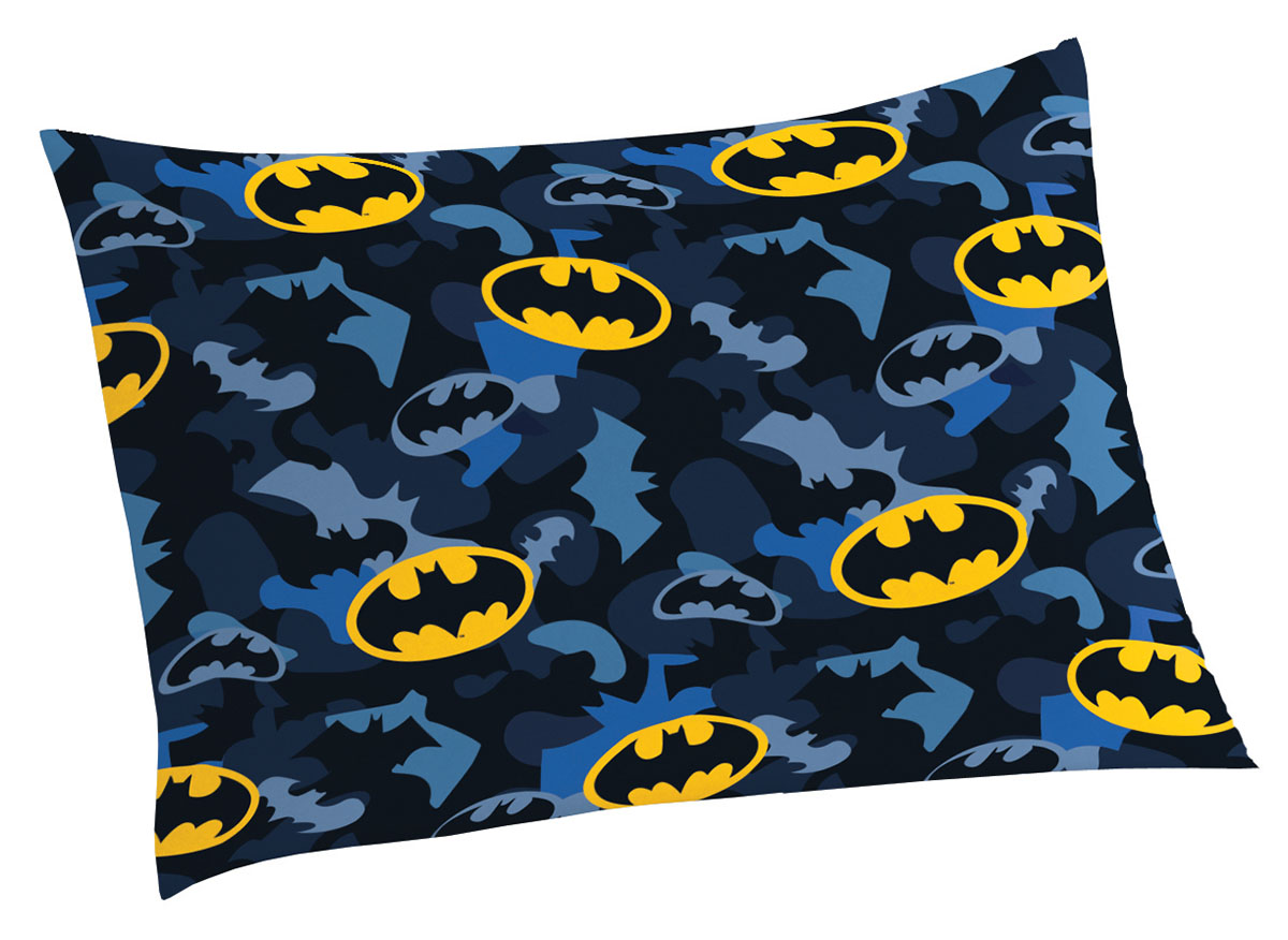 Fronha Avulsa Infantil Microfibra Batman