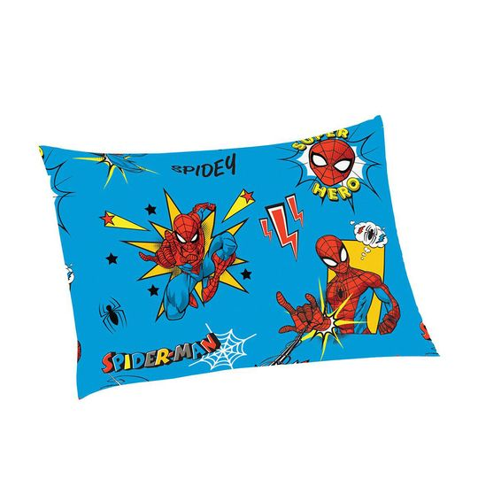 Fronha Microfibra de Poliester Avulsa Estampada Spider Man