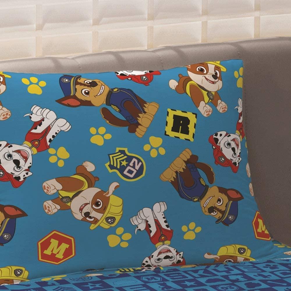 Jogo de Cama Infantil 3 peças Microfibra Patrulha Canina Menino