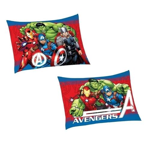 Jogo de Cama Solteiro Estampado Avengers 1,50 m x 2,10 m