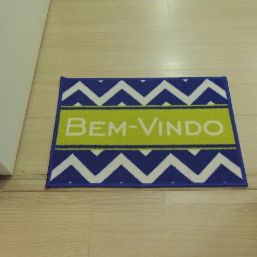 Tapete Capacho Bem-vindo Antiderrapante 40X60 cm