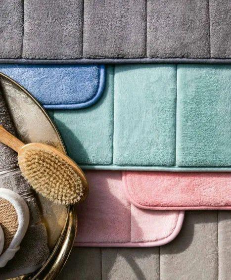 Tapete de Banheiro Super Soft Rose 60cm x 40cm Camesa