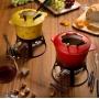 Aparelho De Fondue Vermelho 11 Peças Gradual Bon Gourmet