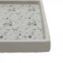 Bandeja De Concreto 25Cm Cinza E Bege Granilite Stardust