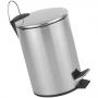 Cesto de Lixo Inox com Pedal 5 Litros Fratelli
