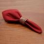 Conjunto 2 Guardanapos Algodão Vermelho 40X40Cm - Royal