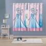 Cortina Infantil Frozen Elsa Rosa 3,00M X 1,80M Lepper