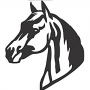 Enfeite Silhueta - Cavalo