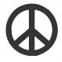 Enfeite Silhueta - Paz E Amor