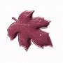 Folha Decorativa Royal Cerâmica Vermelha 23x22x4cm