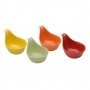 Jogo de Petisqueiras em Porcelana Colors