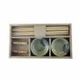 Kit De Sushi De Melamina E Bambu 6 Peças