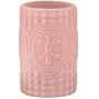 Kit para Banheiro Cerâmica Rosa 3 peças - Mart