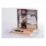 Kit Para Sushi 9pçs Cozinha Oriental Shoyu Hashi 2 Pessoas