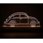 Luminária Decorativa Carro Fusca