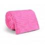 Manta Soft Canelada Casal Pink 2,00 x 1,80 m