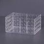 Organizador Empilhável Quadratta 16X11,5X8Cm Cristal