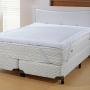 Pillow Top Super King Lit Blanc - Branco