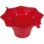 Pipoqueira Dobrável de Silicone Vermelha para Microondas - Wincy