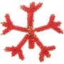 Porta Guardanapo Quadrado Coral Em Metal