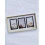 Porta Retrato Triplo Madeira 0,24 x 0,45 cm