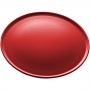 Prato Raso Cerâmica Vadim Vermelho