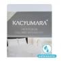 Protetor de Colchão Queen Kacyumara Malha Impermeável Branco
