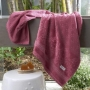 Toalha De Banho Le Bain Madras 70X140Cm Bordô - Artex