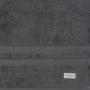 Toalha De Rosto Buddemeyer Algodao Egipcio 48Cm X 90Cm Cinza