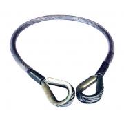 Estropo de cabo de aço 3/8 120 cm - ECS120