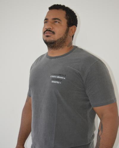 Camiseta ZeuX - Faixa Preta