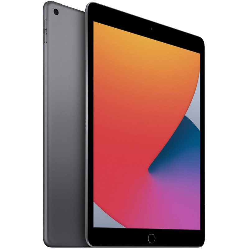 "Apple iPad 8 Tela Retina 10.2"", 32GB, Cinza Espacial, Wi-Fi"