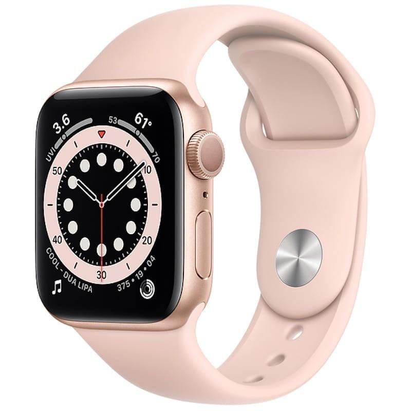 Apple Watch Series 6 (GPS, 44 mm) Gold