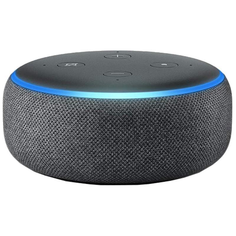 Smart Speaker Amazon com Alexa - ECHO DOT Preta