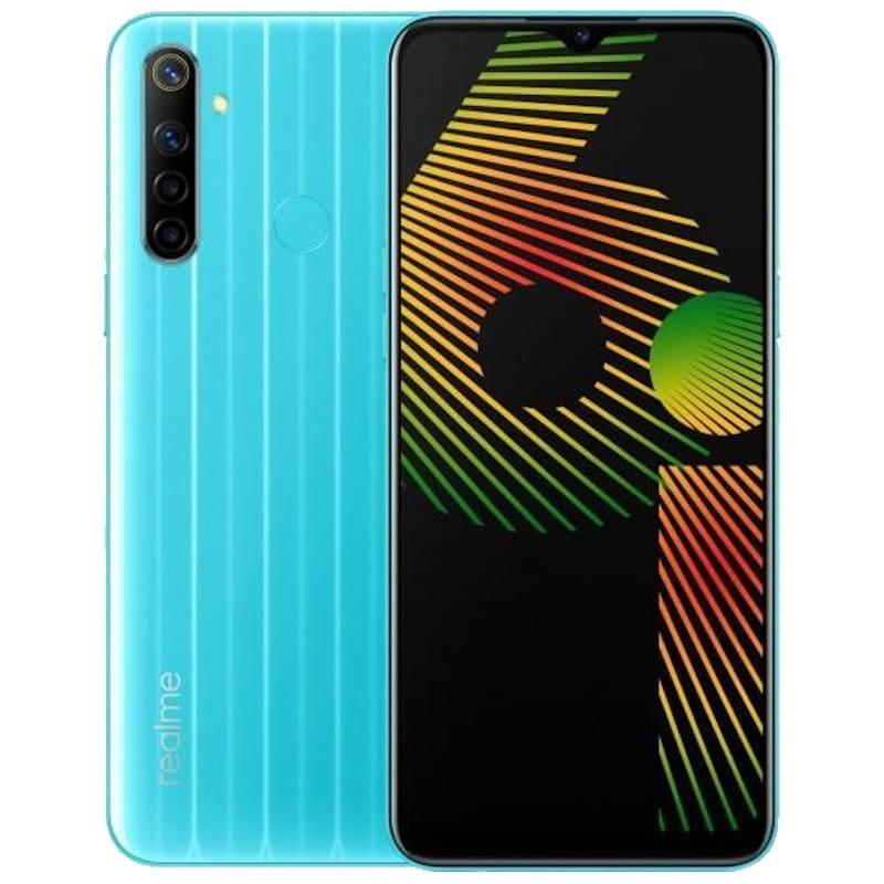 Smartphone Realme 6i Azul 64GB/3GB RAM - Versão Global e Desbloqueado