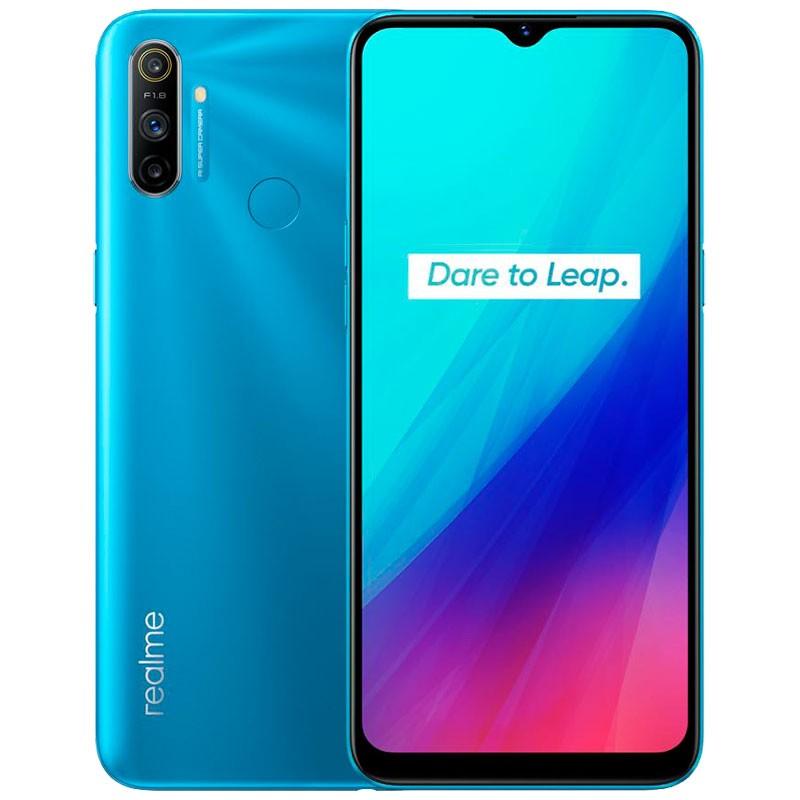 Smartphone Realme C3 Azul Iceberg 3GB/64GB - Versão Global e Desbloqueado