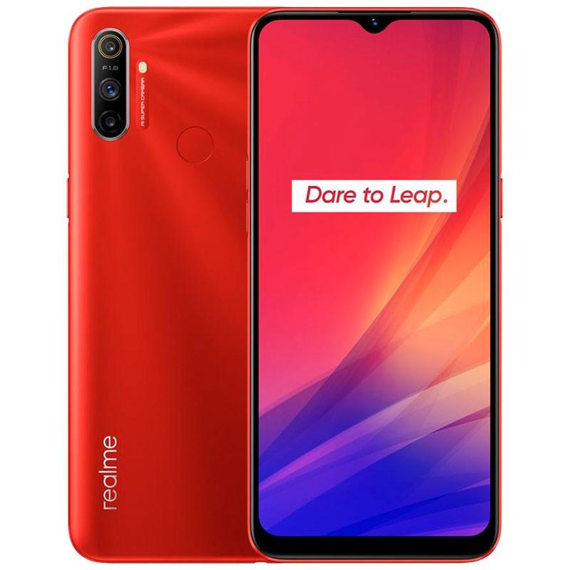Smartphone Realme C3 Vermelho 3GB/64GB - Versão Global e Desbloqueado