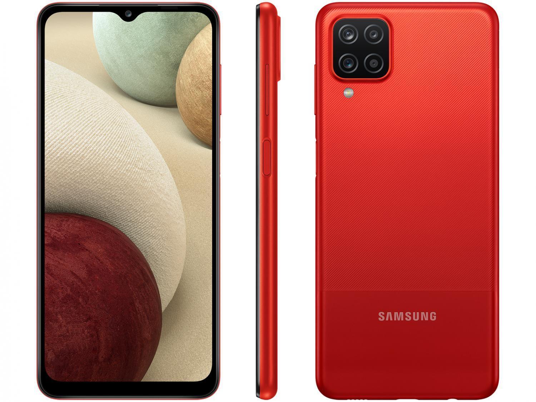 Smartphone Samsung A12 Vermelho 64GB