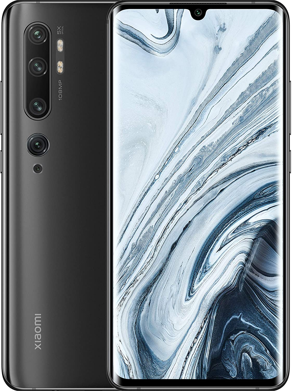 Smartphone Xiaomi Mi Note 10 Preto 128GB - Versão Global e Desbloqueado