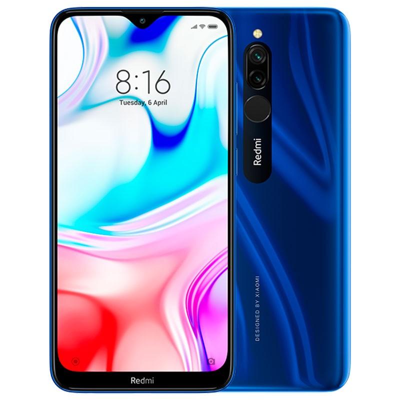 Smartphone Xiaomi Redmi 8 Azul 32GB - Versão Global e Desbloqueado