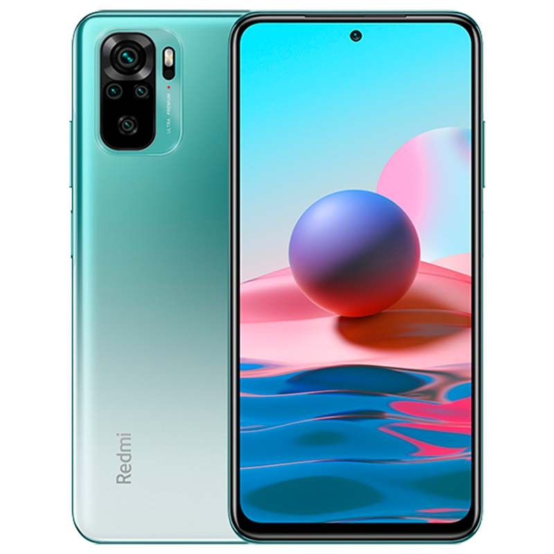 Xiaomi Redmi Note 10 128GB 6GB RAM Verde - Versão Global