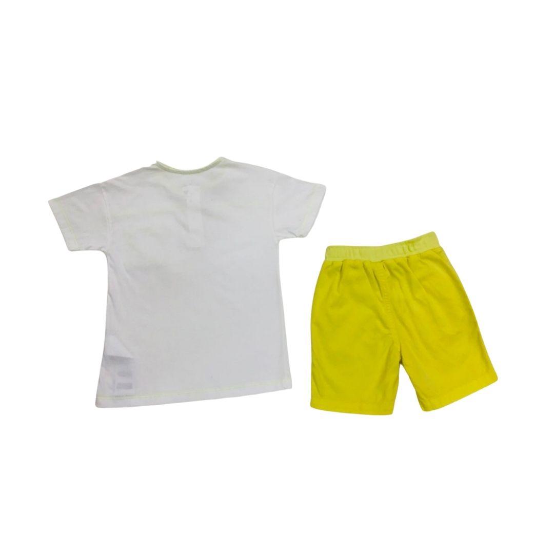Conj Amarelo Nini Bambini