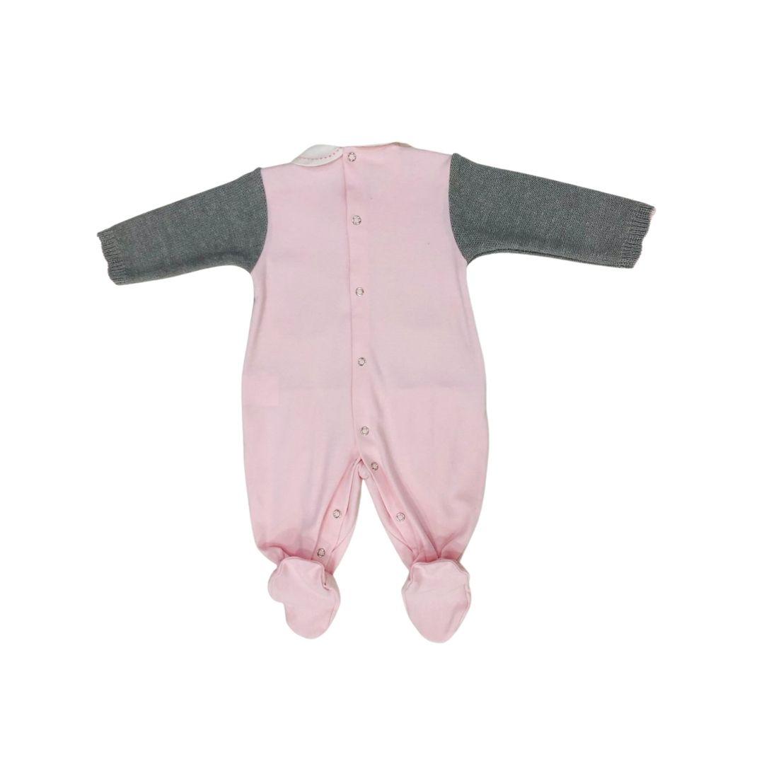 Macacão Tricot beth bebe