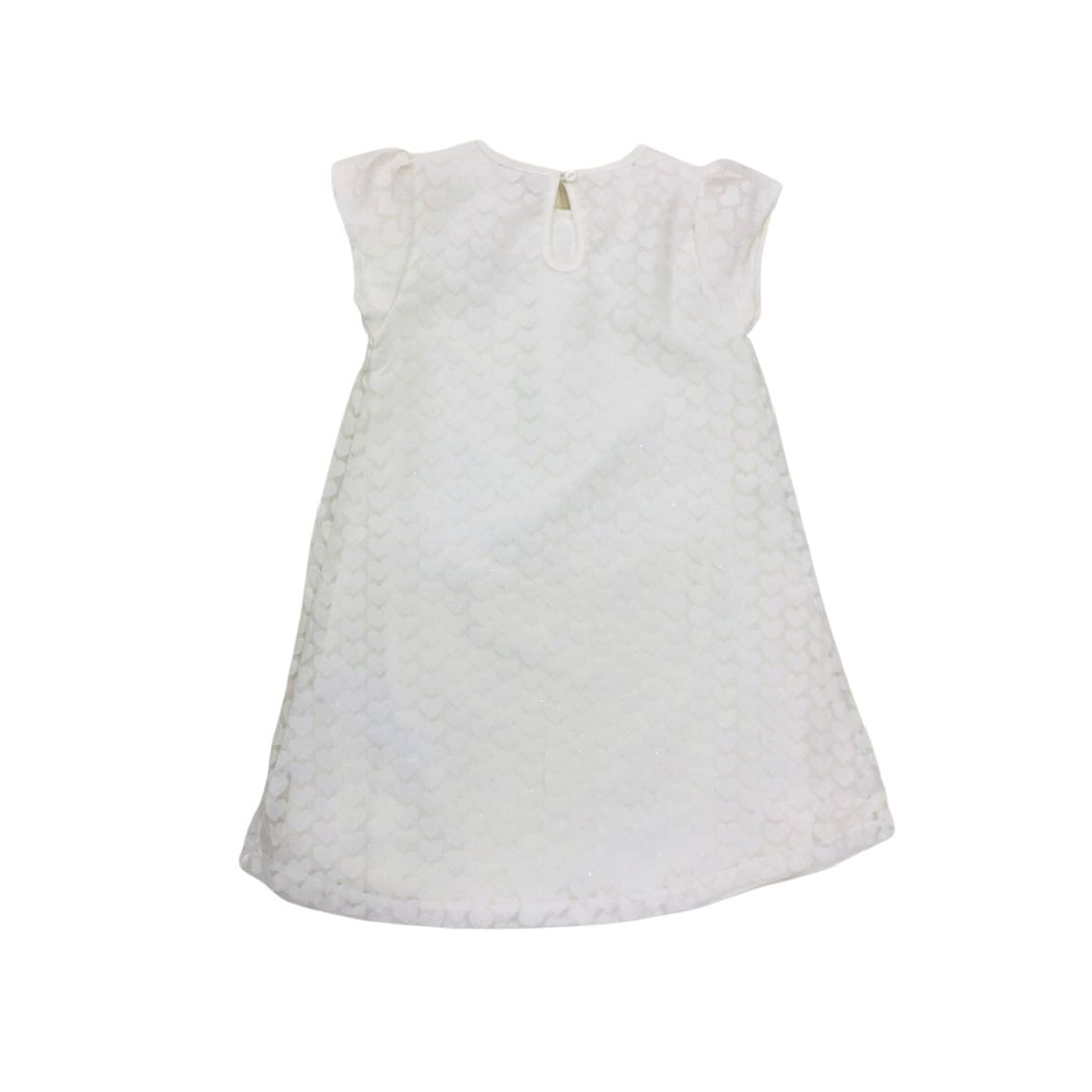 Vestido Branco Brilho Nini Bambini