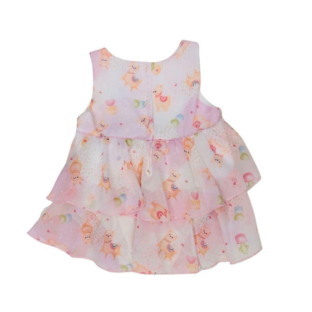 Vestido Lhama Beth Bebê
