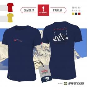 Camiseta FEM Extremos Everest Azul Marinho